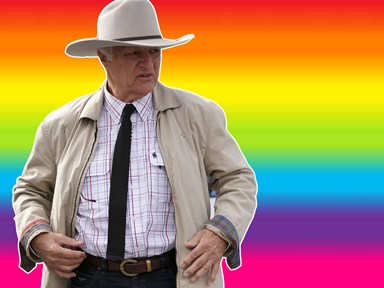 Bob Katter's furious at homosexuals for stealing the word gay and he wants it back