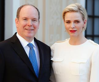Prince Albert and Princess Charlene of Monaco