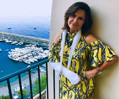 Lisa Wilkinson says bad Italian docs messed up her arm