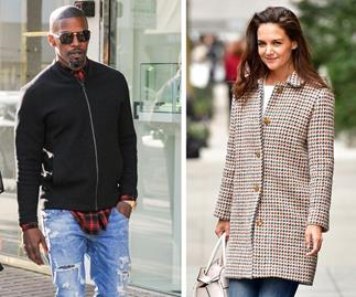 Jamie Foxx spends day with Katie Holmes and Suri Cruise