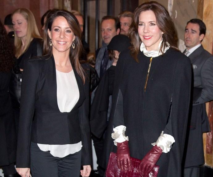 Princess Mary and Princess Marie