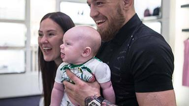 Meet Conor McGregor's beautiful son and girlfriend