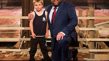 Charlie from Little Big Shots shares his dreams for the future