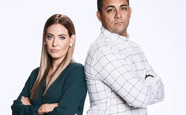 The Block's Ronnie and Georgia hit back over cheating accusations