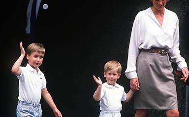 """""""She was a ray of light in a grey world!"""" William & Harry share beautiful memories of Diana"""