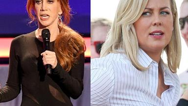 Taking it to where the sun don't shine! Kathy Griffin slams Sam Armytage