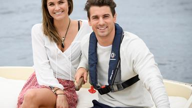 EXCLUSIVE: Matty J and Laura Byrne's pre-Bachelor hook-up!