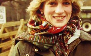 A rare look at the early years of Princess Diana