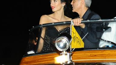 George Clooney and wife Amal return to Venice ahead of third wedding anniversary