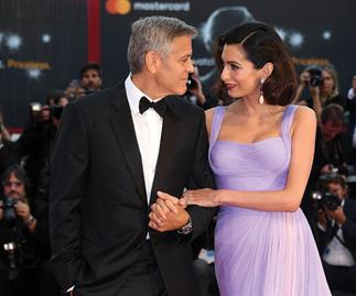 George and Amal Clooney at the Venice Film Festival