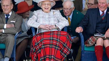 The Royals are living their best life at the 2017 Highland Games