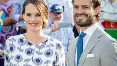 Sweden's Prince Carl Philip and Princess Sofia reveal the name of their newborn son