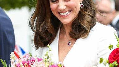 Kate you didn't! We're pretty sure the Duchess shared her baby news months ago