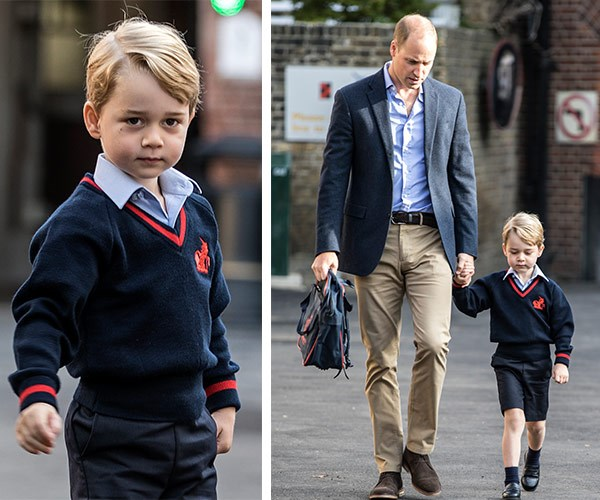 "Last year, Prince George celebrated a huge milestone as he [started school](https://www.nowtolove.com.au/royals/british-royal-family/prince-george-first-day-of-school-thomas-battersea-40742|target=""_blank"") at Thomas's Battersea in London."