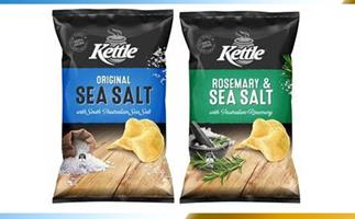 Sea Salt and Rosemary and Sea Salt flavoured Kettle Chips recalled in New South Wales