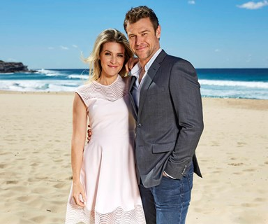 Rodger Corser and Jenni Baird throw support behind Logies move