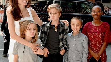A Jolie family day out: Angie takes her kids to The Breadwinner premiere