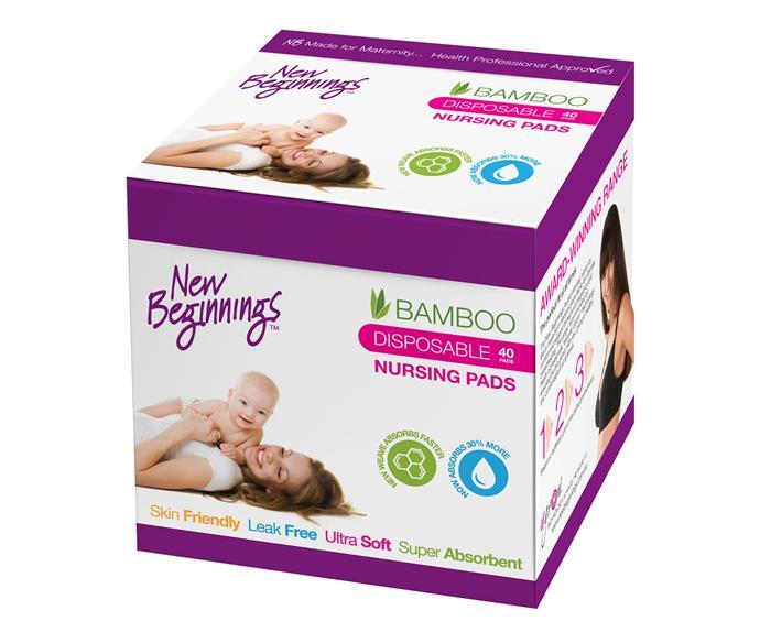 New Beginnings Bamboo Nursing Pads