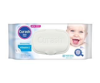 Curash Babycare Vitamin E Wipes