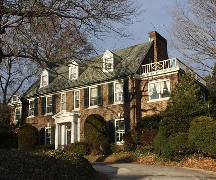 Grace Kelly grew up here in East Falls, Philadelphia. (Pic via/philly.curbed.com)
