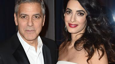 This is too funny! Amal Clooney binge watches ER!