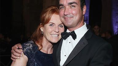 Romance reboot? Sarah Ferguson snuggles up to her ex-beau Manuel Fernandez