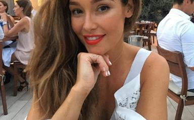"""Erin McNaught welcomes her second child after a """"quick, natural and drug-free"""" labour"""