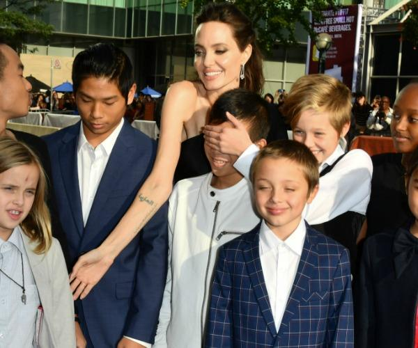 And just like that, the Jolie-Pitt's prove they're just like any other family! Well, sort of...