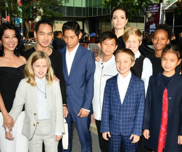 The family were joined by the film's stars, Kimhak Mun and Sareum Srey Moch and human rights activist Loung Ung.
