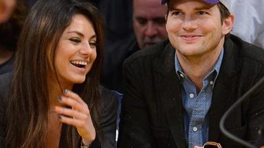 Ashton Kutcher posts a rare glimpse of son Dimitri on Instagram