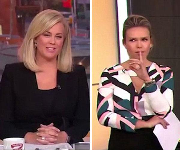 """Samantha Armytage hits out at """"smug"""" co-host"""