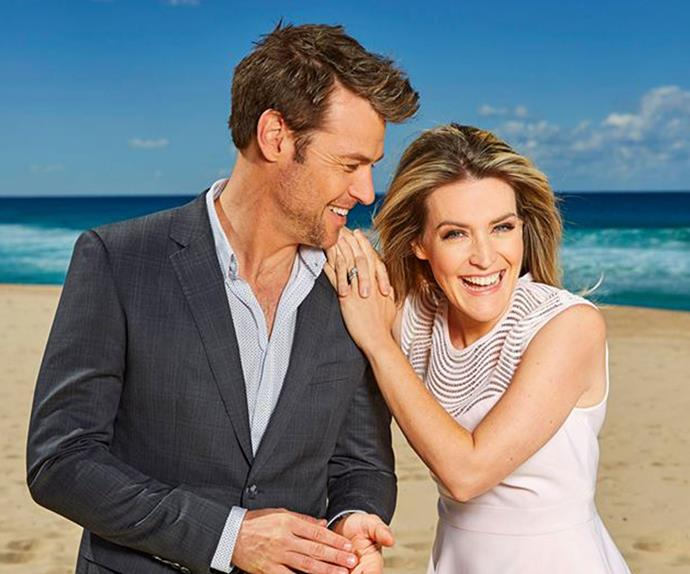 Rodger Corser and Jenni Baird