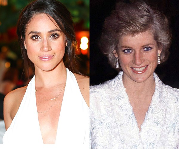 According to a royal expert the Queen doesn't want Meghan to feel alienated like Princess Diana did. *(Images: Getty)*