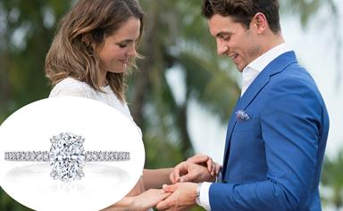 EXCLUSIVE LOOK: The diamond ring Matty J gave Laura