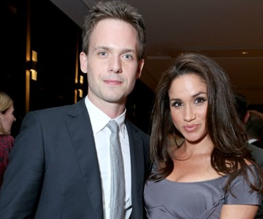 "Patrick J. Adams' ""innocent"" photo of Meghan Markle ""was twisted into something different"""