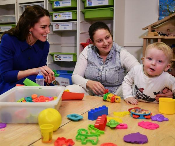 Kate visited her patronage, the Anna Freud National Centre for Children and Families, back in January.