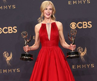 Did you spot Nicole Kidman's (fashionable) fashion faux pas on the Emmys red carpet?