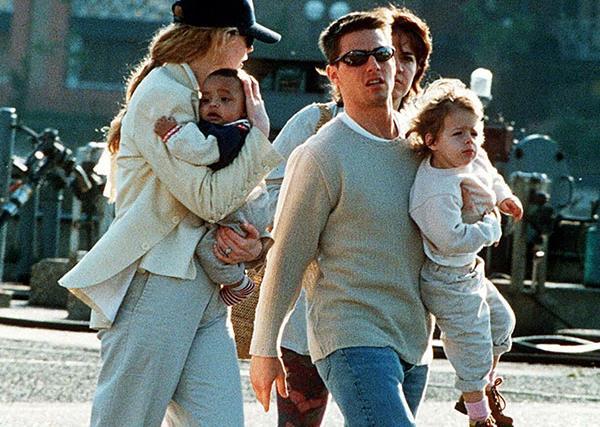 Nicole Kidman, Tom Cruise, Bella Cruise, Connor Cruise