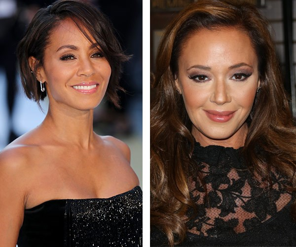 Jada Pinkett Smith and Leah Remini