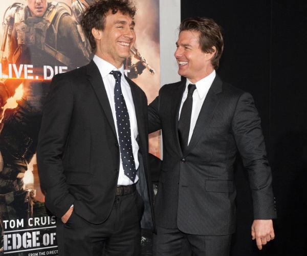 Tom and Doug are pictured at the *Edge Of Tomorrow* red carpet premiere in 2014.