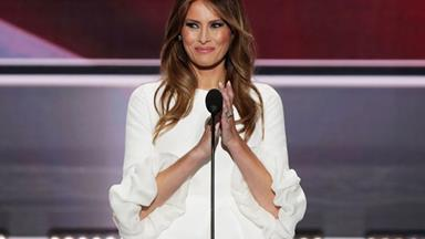 Melania Trump threatens to sue school who used her face to sell English classes
