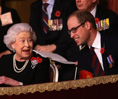 """Prince William has """"King lessons"""" from The Queen"""