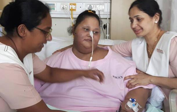 "The ""world's heaviest woman"" has passed away despite recently losing nearly 200kg"