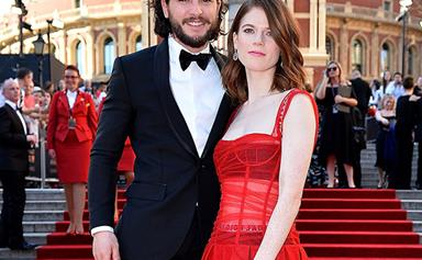 Take us to a cave because Jon Snow knows something! Looks like Kit Harington is wifing up Rose Leslie