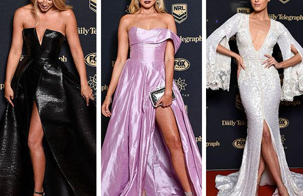 The best red carpet dresses at the Dally M Awards