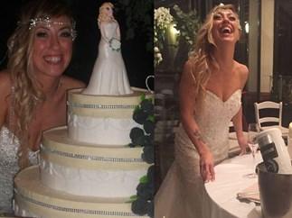 Italian woman marries herself in a lavish 'fairytale' wedding