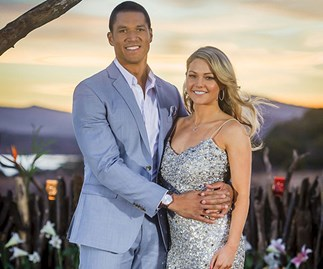 Blake Garvey and Sam Frost