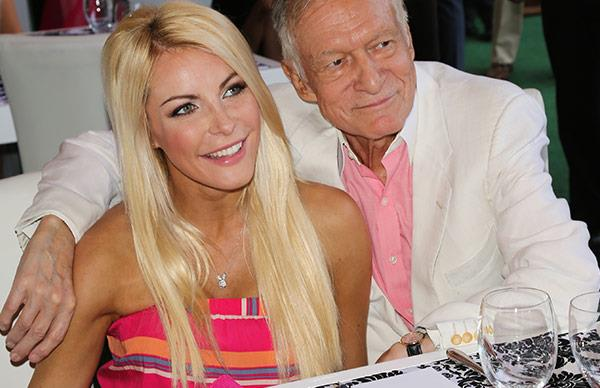 Crystal and Hugh Hefner