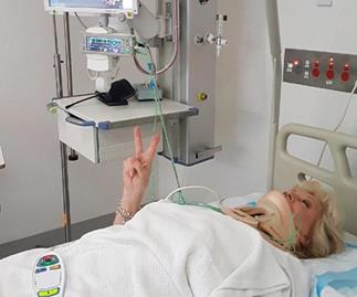 Australia's beloved Patti Newton is recovering in hospital