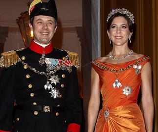 Prince Fred & Princess Mary
